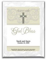 Cappuccino Wedding Favor - God Bless - Ornate