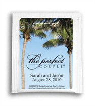 Tea Wedding Favor - The Perfect Couple - Palm Trees Photo