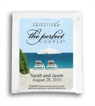 Tea Wedding Favor - The Perfect Couple - Two Beach Chairs Photo
