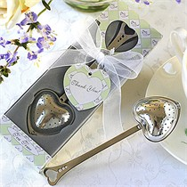 Teatime Heart-Shaped Tea Infuser in Teatime Gift Box